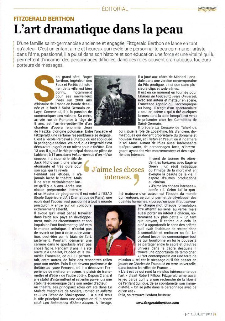 Fitzgerald_Berthon_comédien_article_St_Germain_magazine_2017